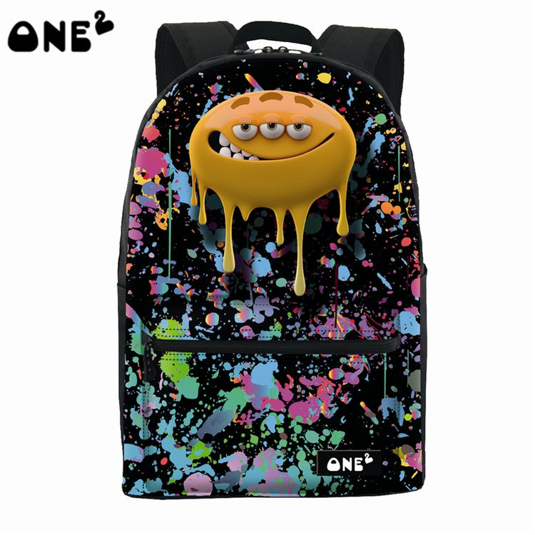 This Deals2016 ONE2 Design big mouth monster pattern nylon custom ...