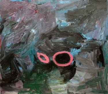 """Saatchi Art Artist Ilian Savkov; Painting, """"Corinthian Helmet at Night"""" #art"""