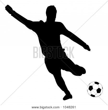 Soccer Silhouettes Stock Photo Stock Images Bigstock Soccer Silhouette Silhouette Soccer Players