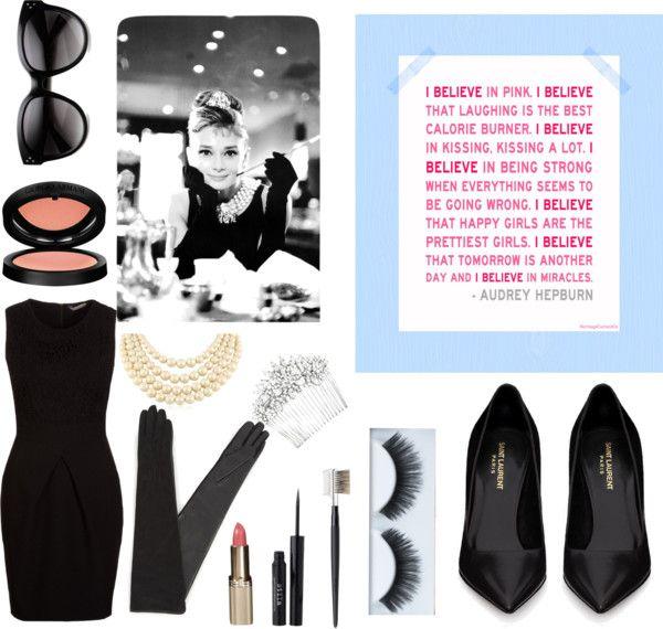 """Audrey Hepburn"" by heathermarshmello on Polyvore"