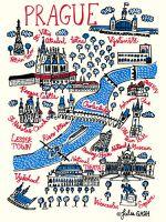 Prague Art Print by Julia Gash at King & McGaw