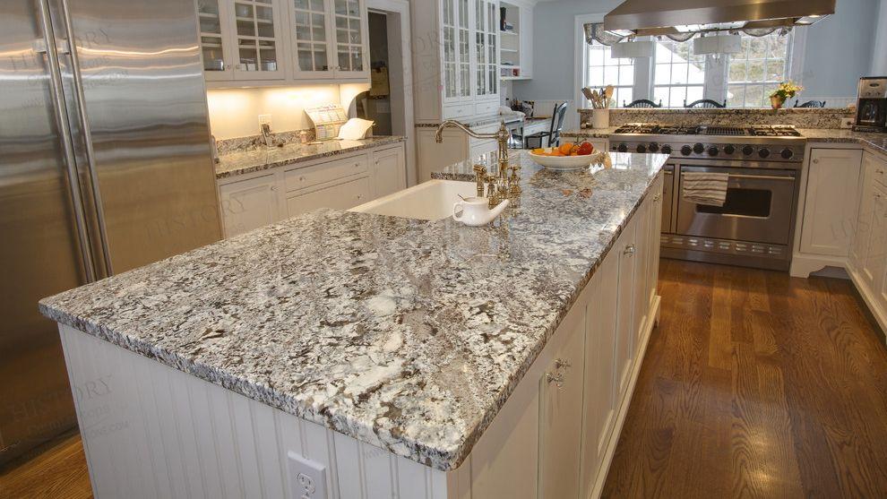 Brazil Aran White Granite Countertops Polished Granite Worktops