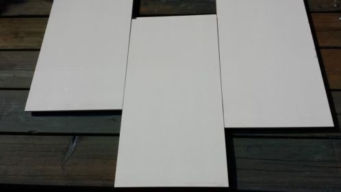 Keramieke tegel 30x60 60x30 wit isolerende werking design badkamer