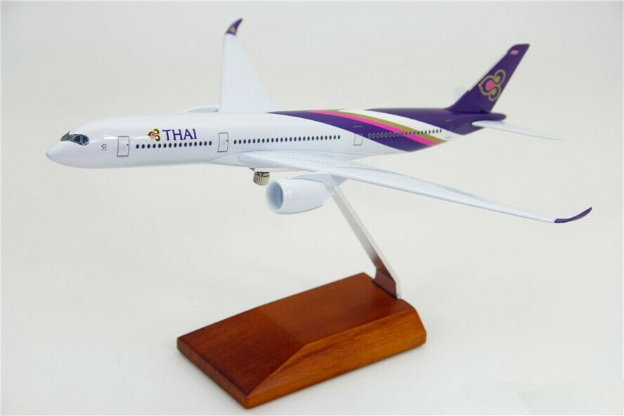 30CM 1:200 Thai AIRBUS A350-900 Passenger Airplane Diecast