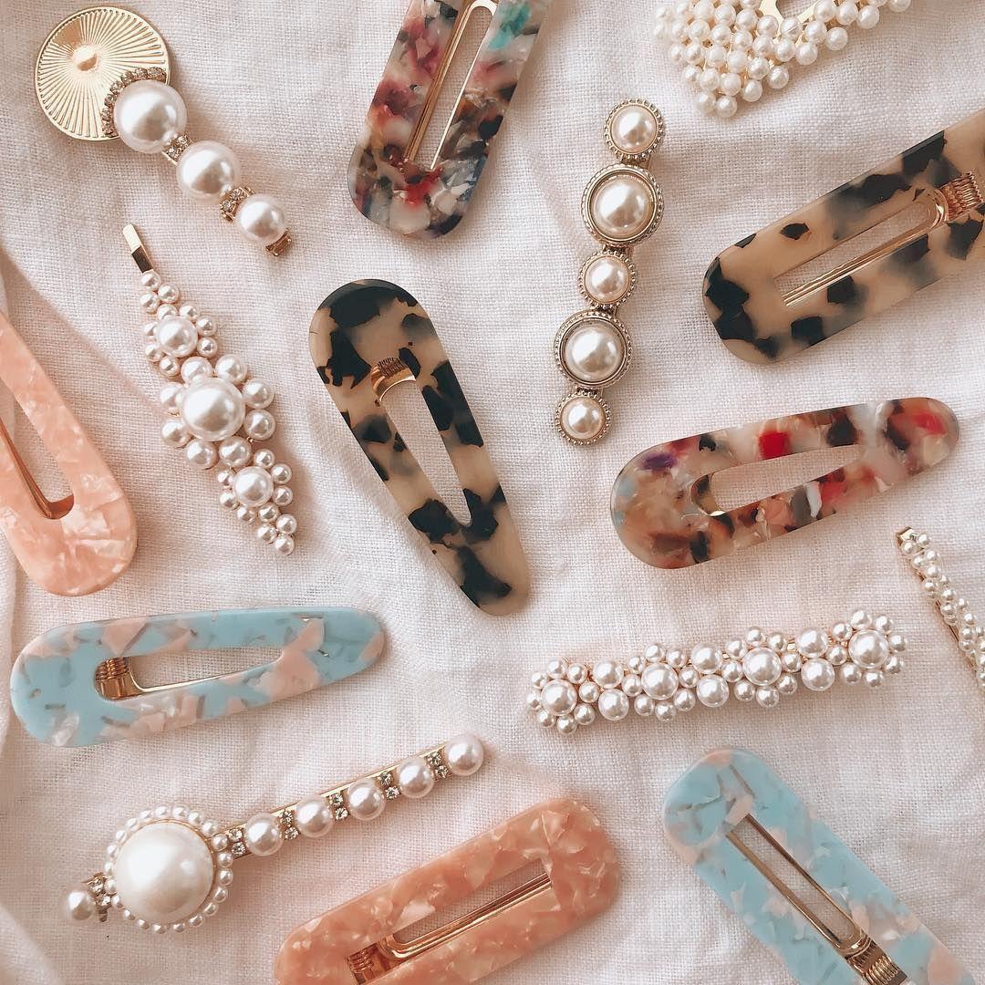 barrette hair jewelry large barrette fancy barrette hair accessory Hair jewelry SPRING DREAM beaded barrette