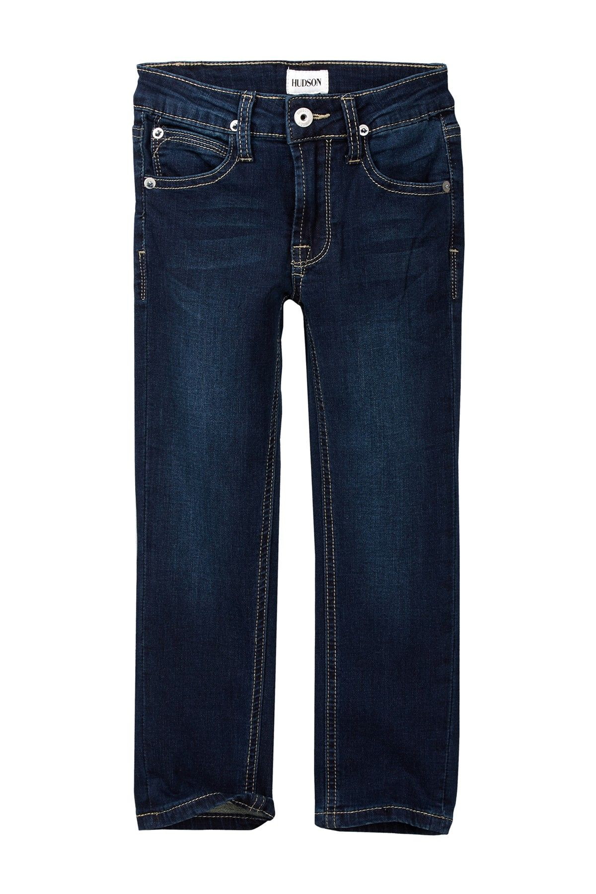 Parker Straight Knit Denim Jean (Toddler & Little Boys)