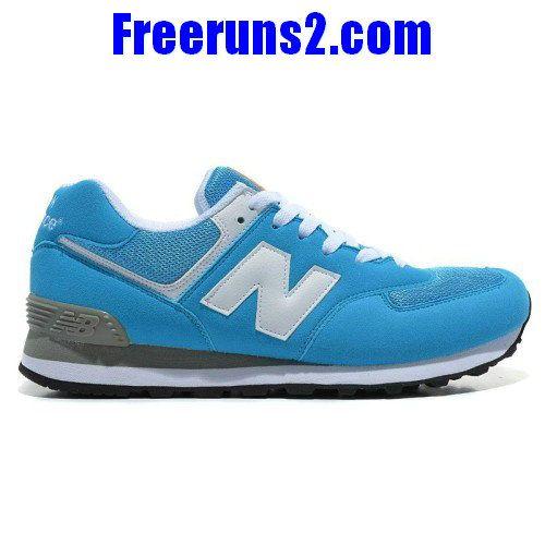 New Balance 574 Five Rings series White royal Blue men NB Shoes