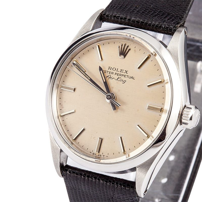 Rolex Air King Vintage Stainless Steel Oyster Perpetual