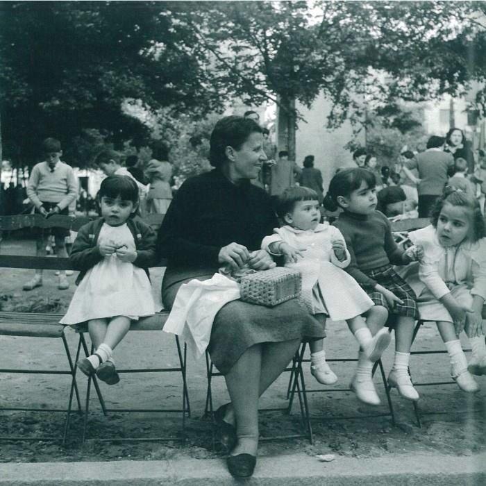 Plaza del 2 de mayo. 1955,