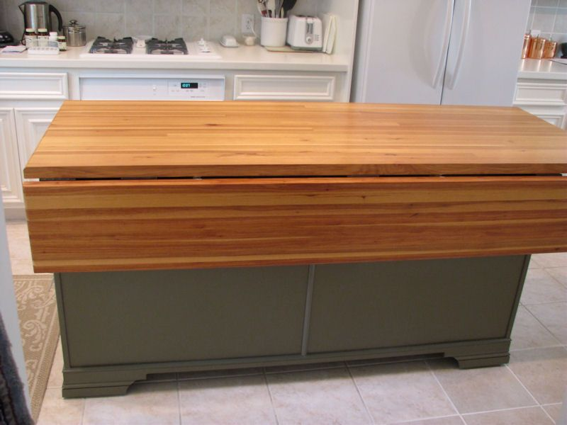 Drop Leaf Countertop Google Search Wood Countertops White