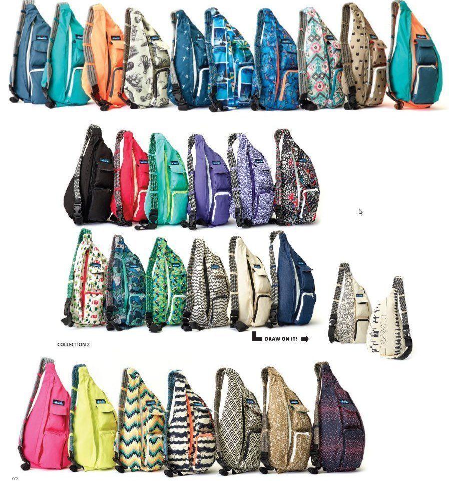 New Kavu Rope Bag Sling Colors