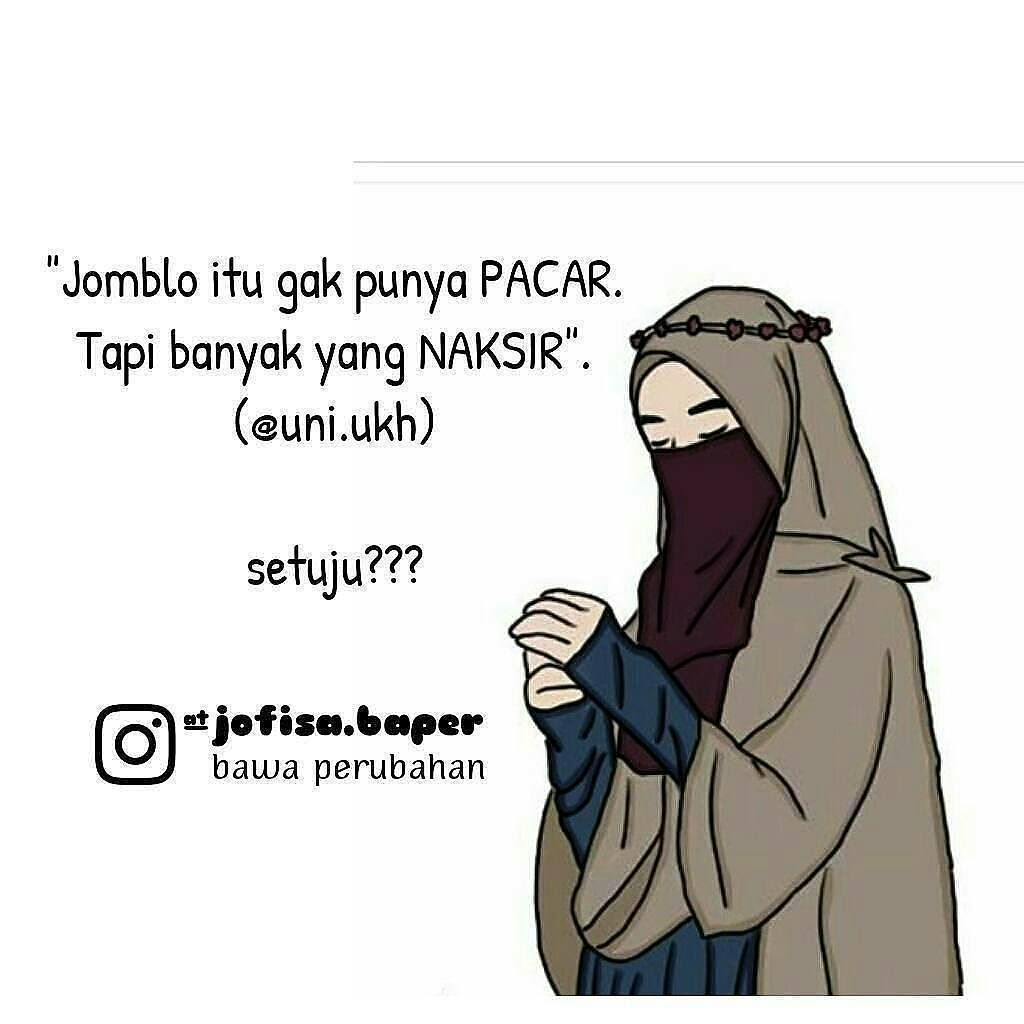 Gambar Kartun Muslimah Cinta Dalam Diam Top Gambar