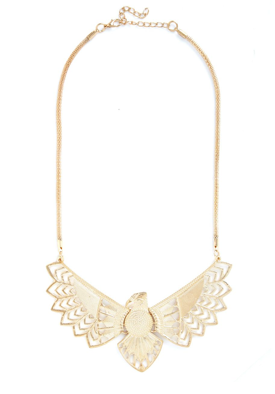 Cute Critter Fashion - Whimsical Wingspan Necklace