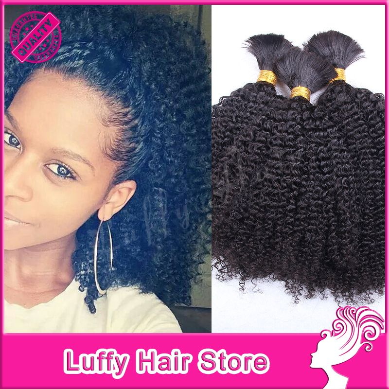 Tree Braids With Curly Hair Human For Braiding