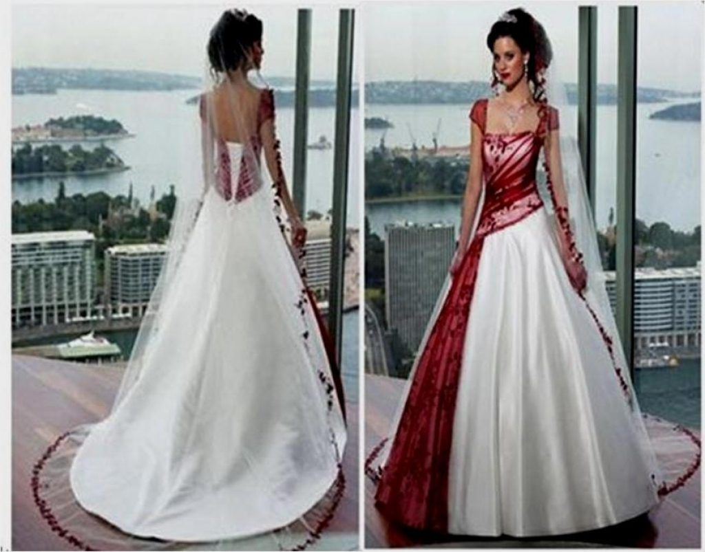 Red And White Corset Wedding Dresses Naf Dresses In Wedding Dresses ...
