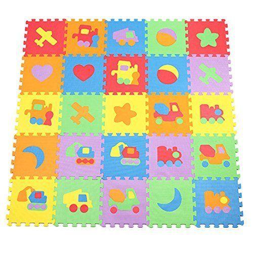 Fines Shop Puzzle Pour Enfant Motif Vehicule 10 Tapis De Https Www Amazon Fr Dp B018s9lnw8 Ref Cm Sw Chambre A Jouer Des Enfants Tapis De Jeux Bebe Tapis