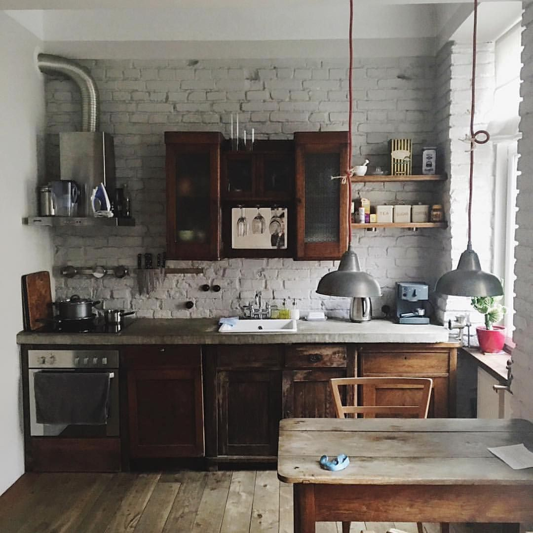 Charming Rustic Kitchen Ideas And Inspirations: Digging This #kitchen!!!! #kitchenlife #kitchenremodel
