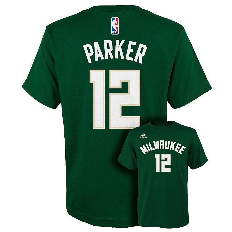 Boys 8-20 adidas Milwaukee Bucks Jabari Parker Player Tee  46b3ddc3f