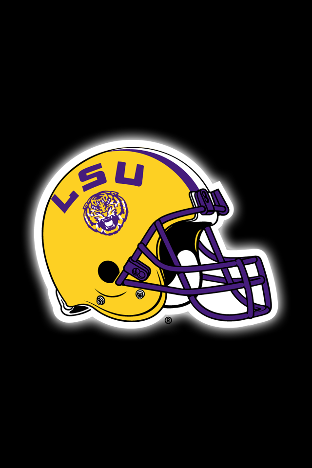 Get A Set Of 12 Officially Ncaa Licensed Lsu Tigers Iphone Wallpapers With Your Team S Exact Digital Colo Lsu Tigers Football Tiger Football Football Wallpaper