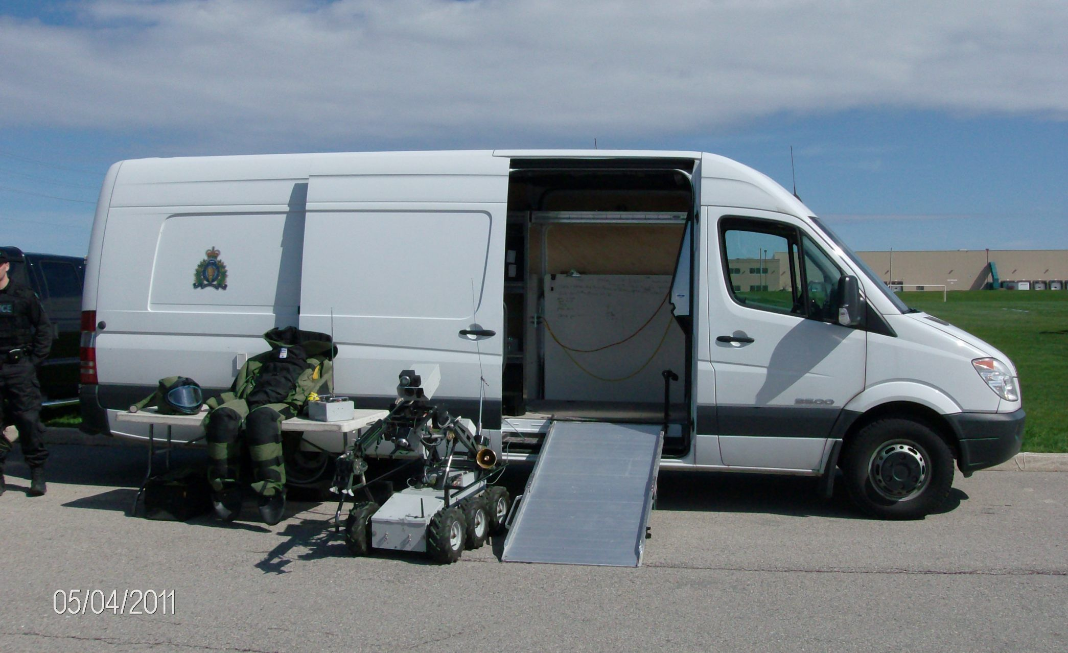 Rcmp Dodge Sprinter Bombs Squad Unit With Images Recreational