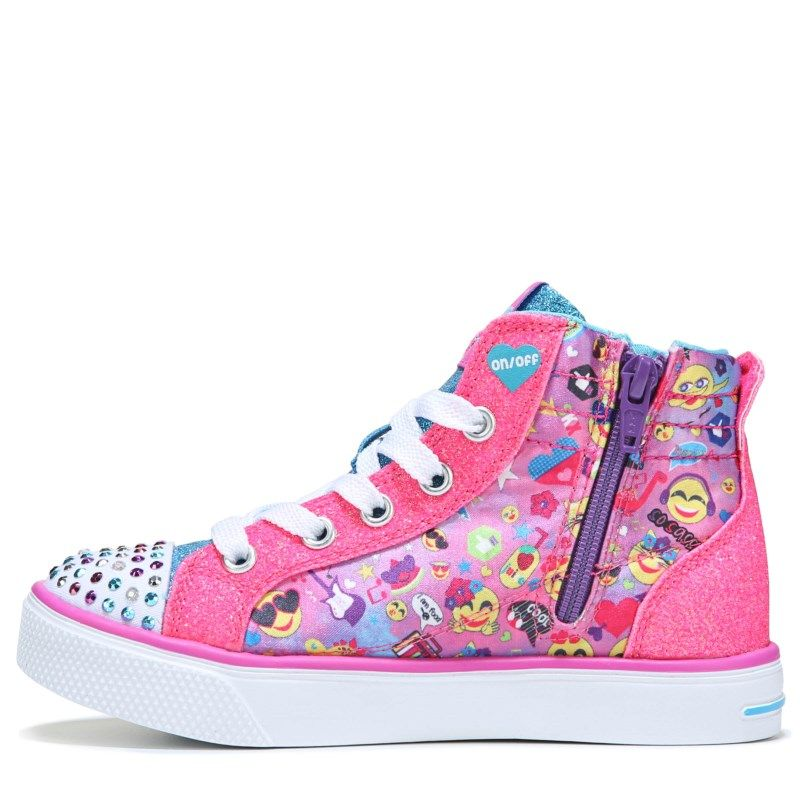 Skechers Girls' Mutlicoloured 'Twinkle Toes' Light Up High