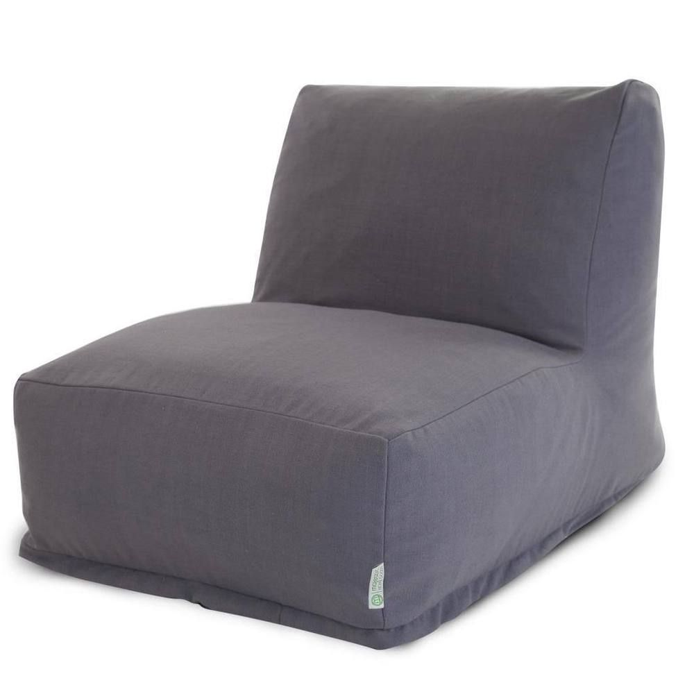 Miraculous College Room Bean Bag Lounge Gray L Shaped Large Chair W Uwap Interior Chair Design Uwaporg