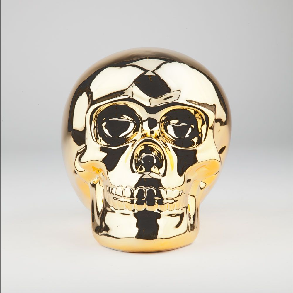 Gold Skull Bank 221046621 | Novelties | Tillys.com