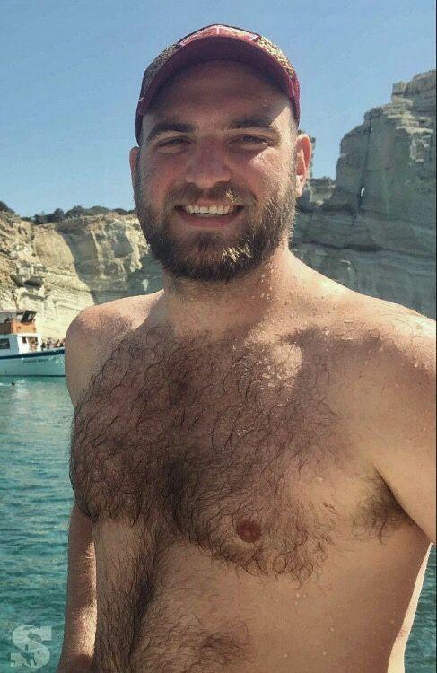 Teddy bear gay man
