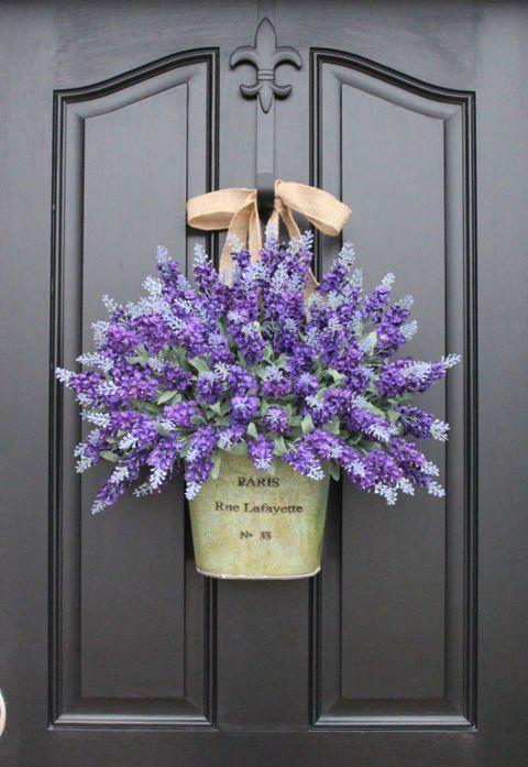 Decoraciones Para La Puerta De Entrada Flores Naturales