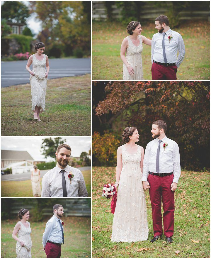 Jeannie and David's DIY Wedding in Pennsylvania with Beauiful First Look By BG Productions