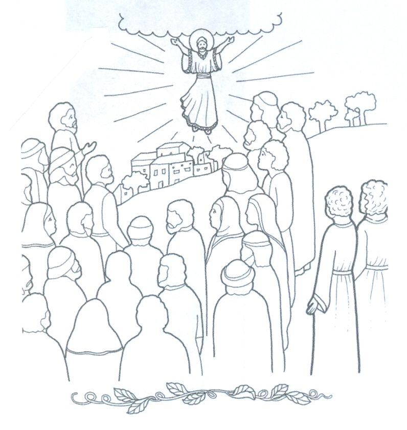 Jesus Christ Coloring Pages Lds Resurrection The Second Coming Of