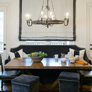 Surprising Black Velvet Banquette In 2019 Banquette Dining Dining Beatyapartments Chair Design Images Beatyapartmentscom