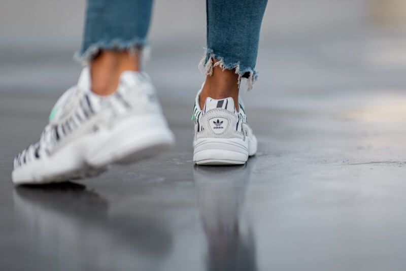 Adidas Women's Falcon Out Loud Crystal White | Adidas ...