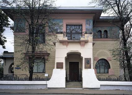 Ryabushinsky House designed by Fyodor Schechtel
