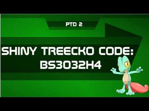 Pokemon gift codes y