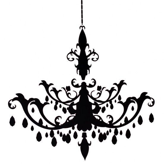 A black chandelier tif symbol icon pinterest black a black chandelier mozeypictures Images