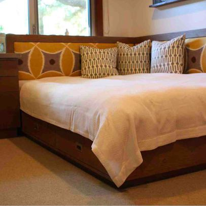 Corner Bed Design Ideas Pictures Remodel And Decor