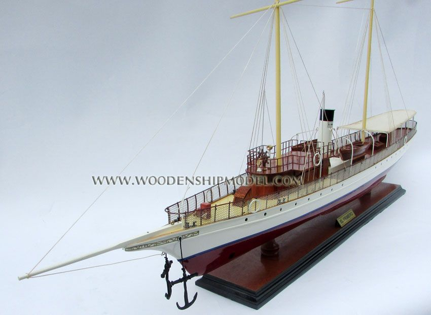 El Primero American Steam Yacht 1893 wooden model | Steam Ships/ Paddle Steamers in 2019 | Model ...