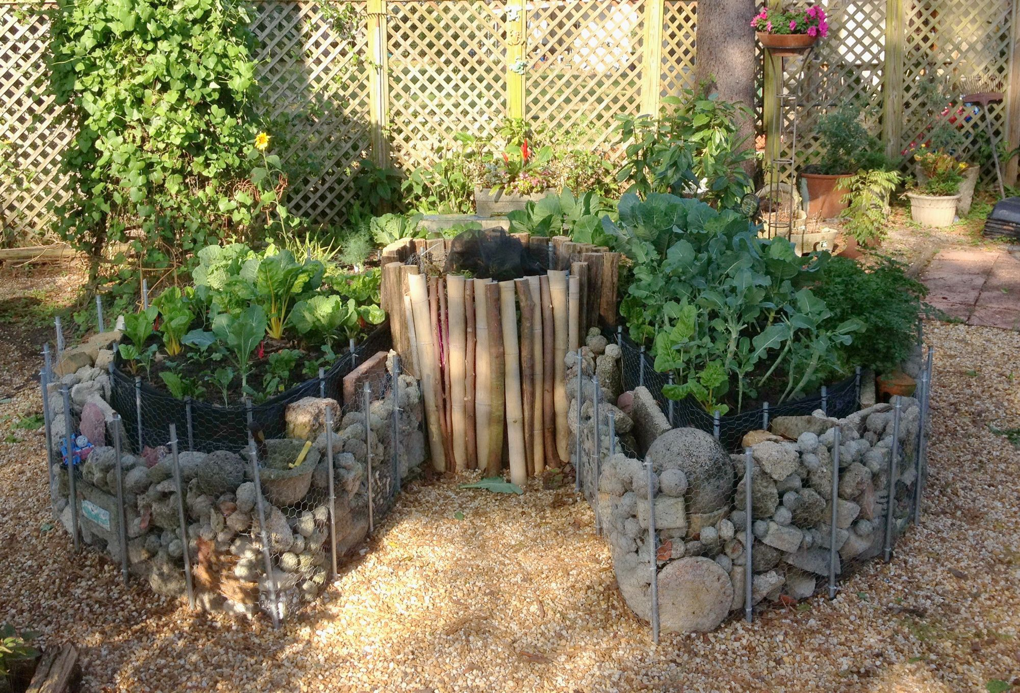 Permaculture Tip Of The Day How To Make A Keyhole Garden Food