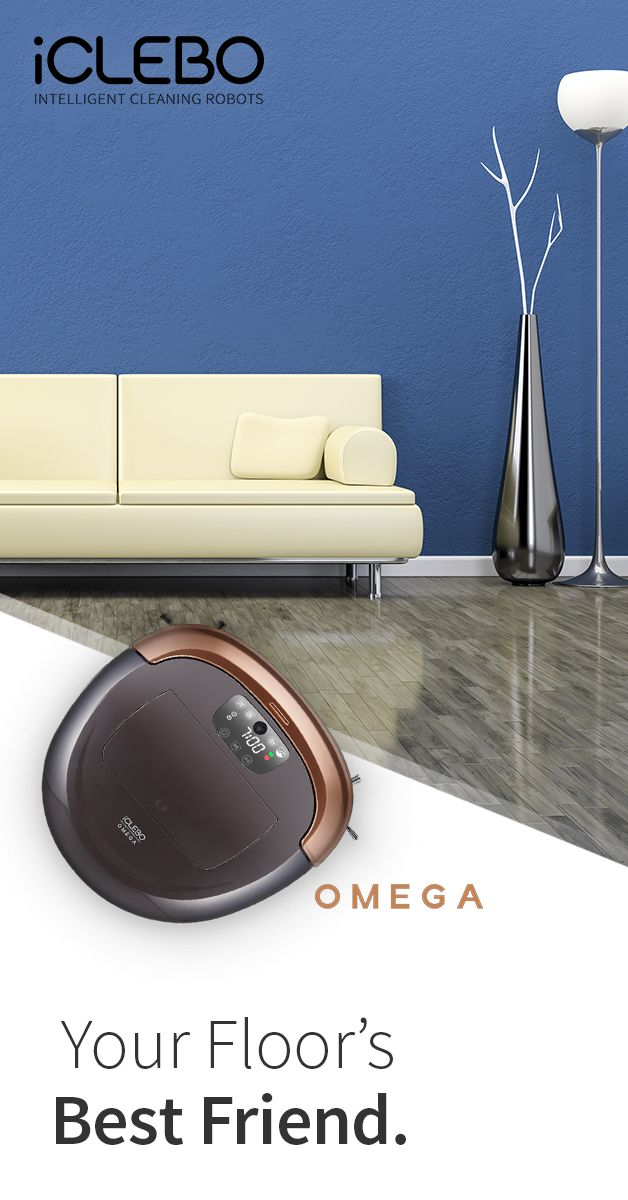One of the world's most powerful robot vacuum cleaners