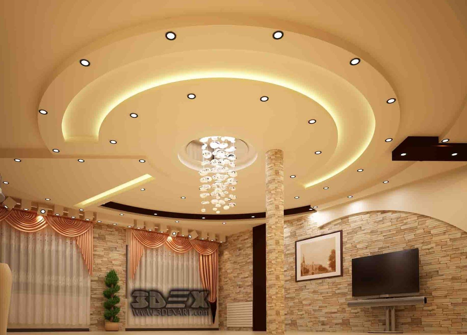 Latest False Ceiling Designs For Hall Modern Pop Design For Living