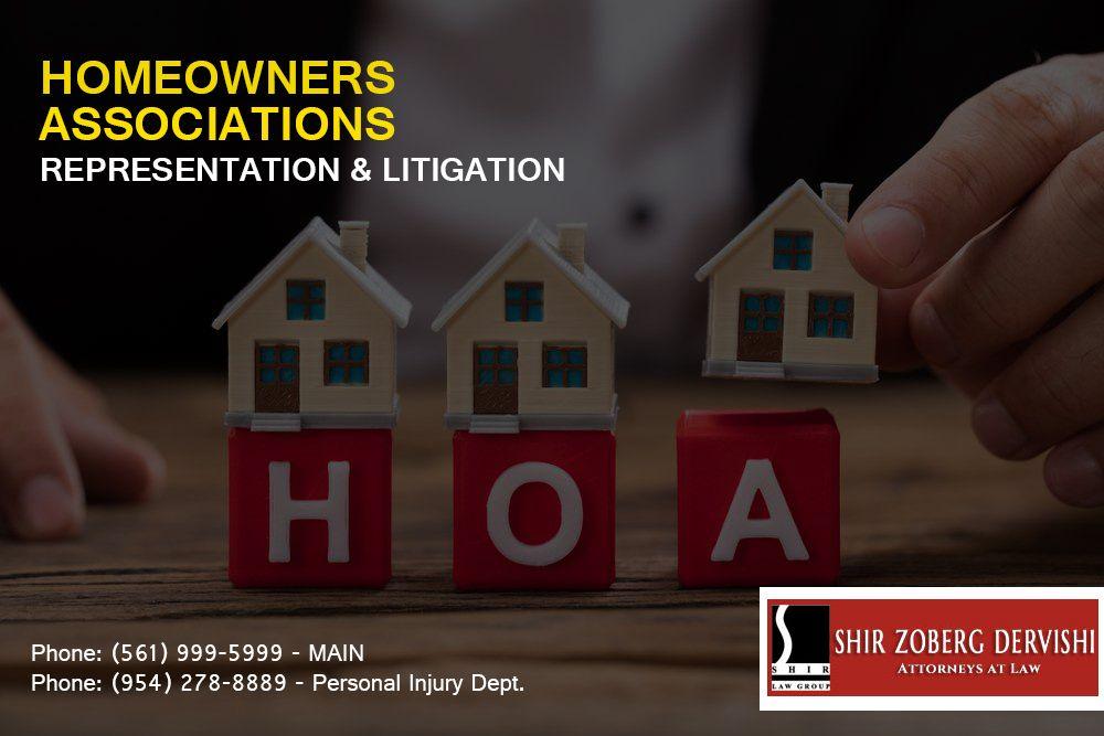 Condominium homeowners association lawyers in palm beach
