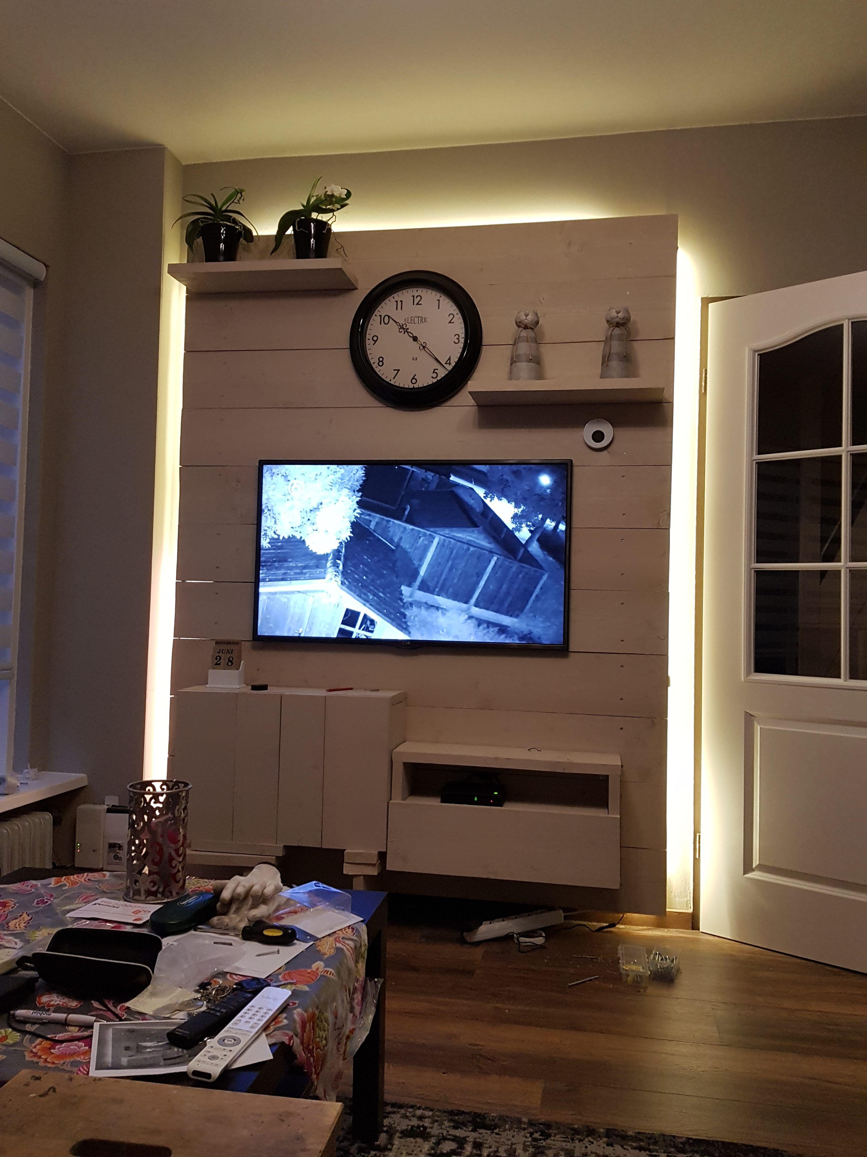Cinewall Tv Wand With Meuble