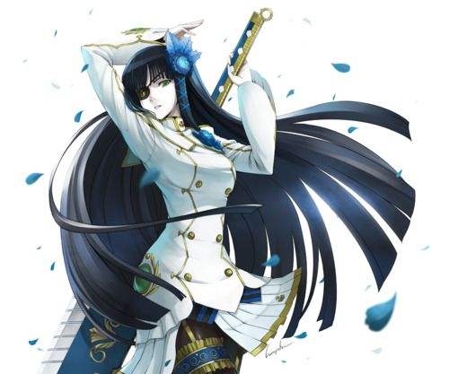 Eyepatch Samurai Girl Click Picture For Hd Free Download Anime Warrior Girl Anime Anime Warrior
