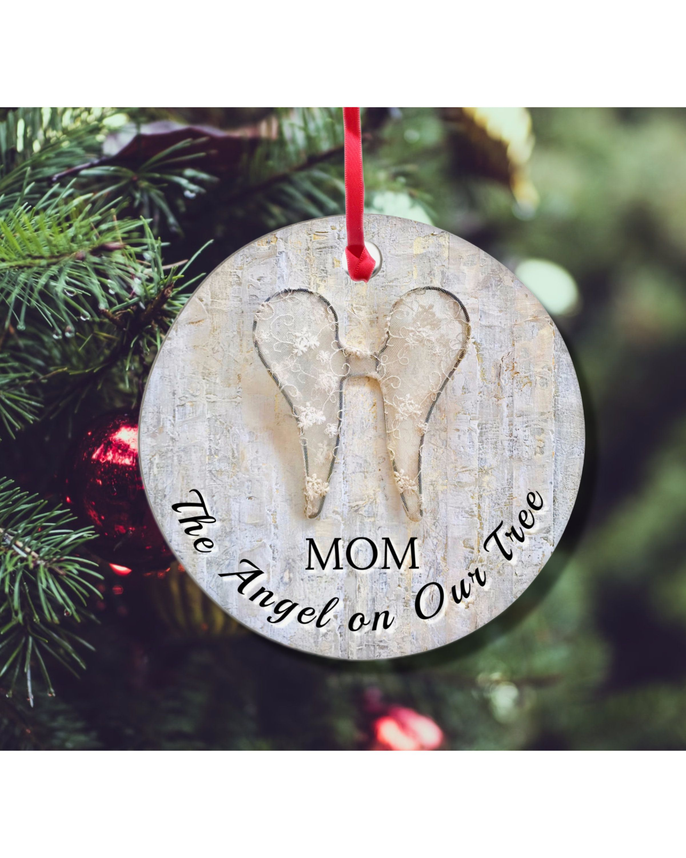 Memory Christmas Ornament Memorial Ornaments Personalized Remembrance Ornament By Resteasychil Memorial Christmas Gift Memorial Ornaments Christmas Ornaments