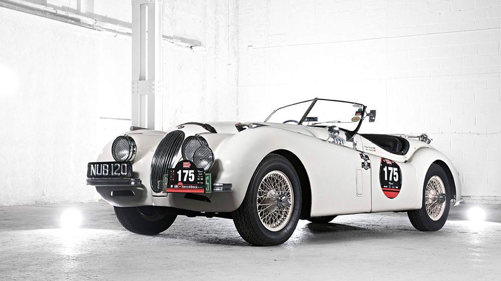 Alpine Jaguar XK120 | Jaguar xk120, Cars and Vehicle