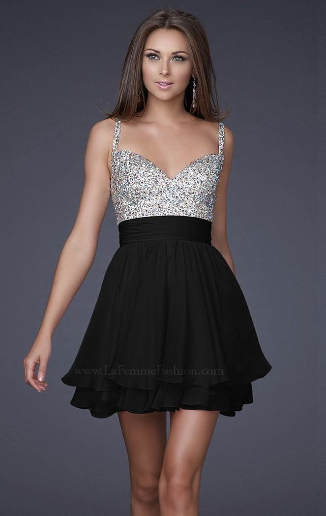 3b688c730e0 La Femme 16813 by La Femme Cute Homecoming Dresses