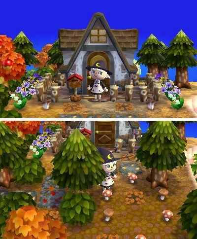 Fox toothed girl animal crossing nl hhd qr for Modern house acnl