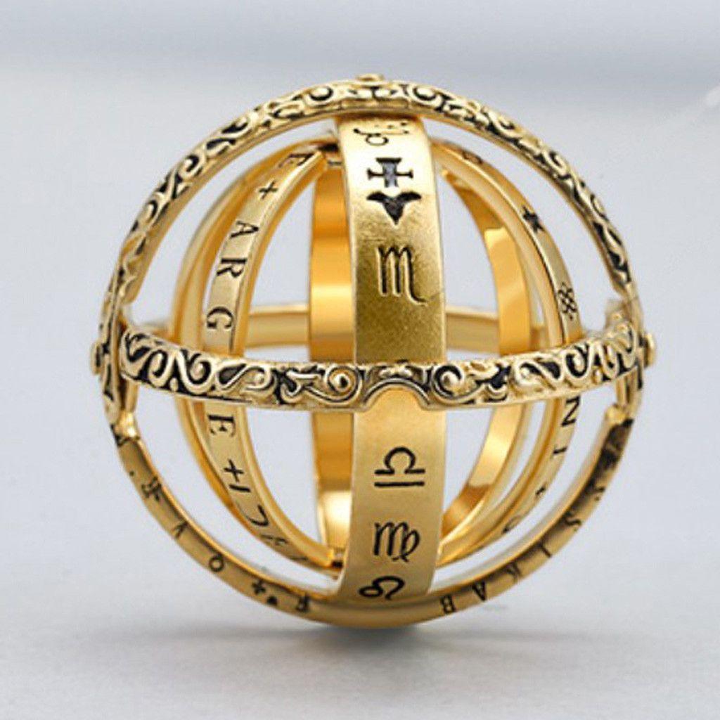 Öffnungsbarer Ring Astronomischer Globusring Vintage Science Jewelry   Feature:   Fusion ist Liebe! Offen ist die Welt!   Kombiniert ist ein zarter Ring, entfaltet ist eine astronomische Kugel, Fingerspitzen verborgen die Versuchung des gesamten Universums   Diese Kombination aus Maschinen- und Schmuckdesign, sowohl Schmuck als auch Spielzeug, voller Spaß.    Es ist das beste Geschenk für einen Freund oder Ihren Liebhaber.   Es kann als Sammlung gesammelt werden.   Paketinhalt:   1 X   Globe Rin