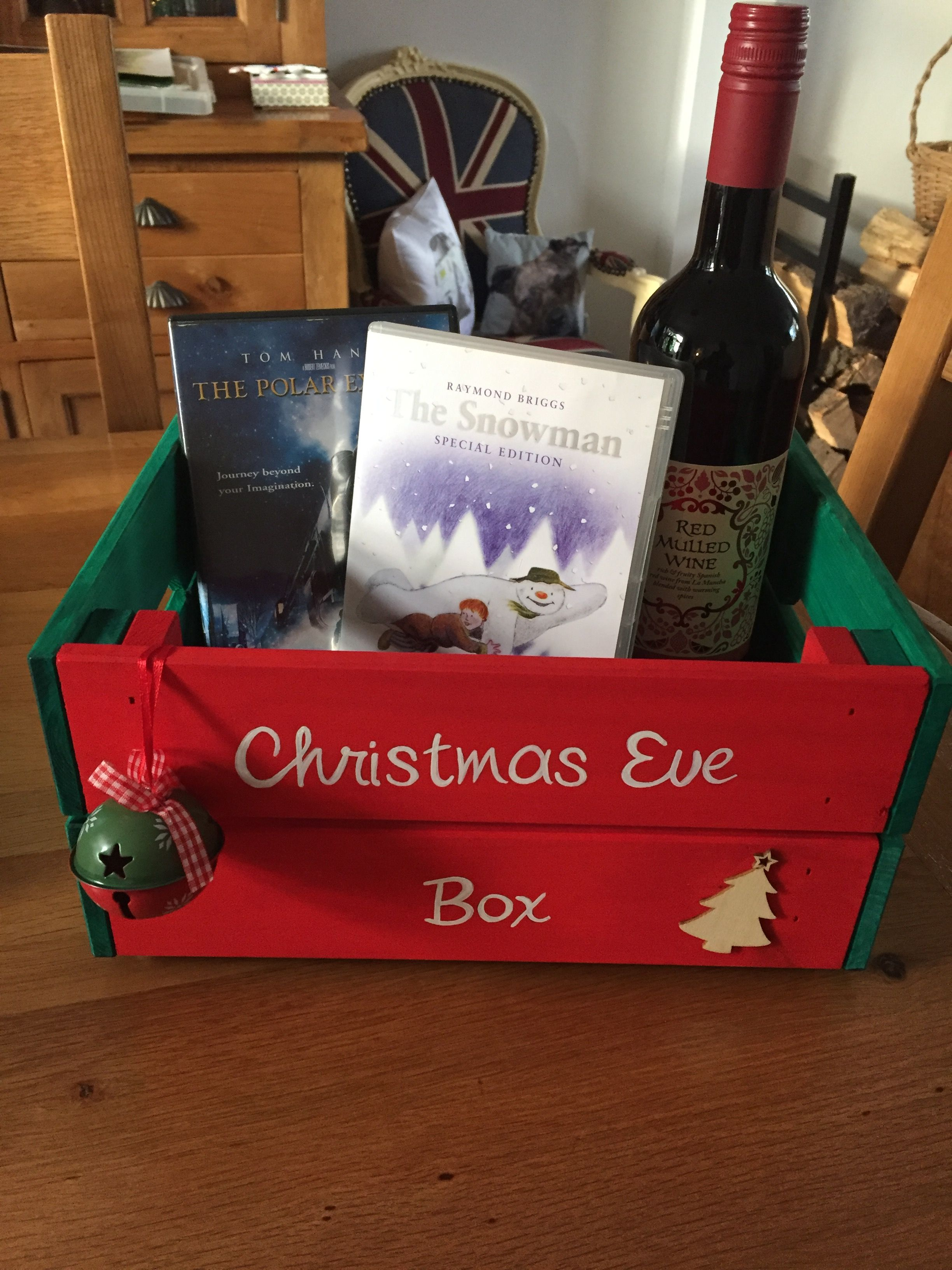 Getting Festive Ready For Christmas Eve Have A Christmas Eve Box Filled With All Your Favo Christmas Eve Box Christmas Eve Crate Christmas Eve Box For Kids